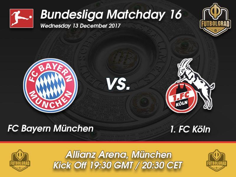 Bayern München vs Köln – Bundesliga – Preview