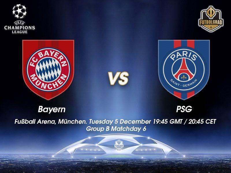 Bayern vs Paris Saint-Germain – Champions League – Preview