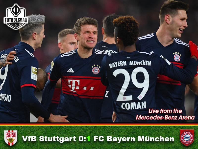 Stuttgart v Bayern München – Match Report