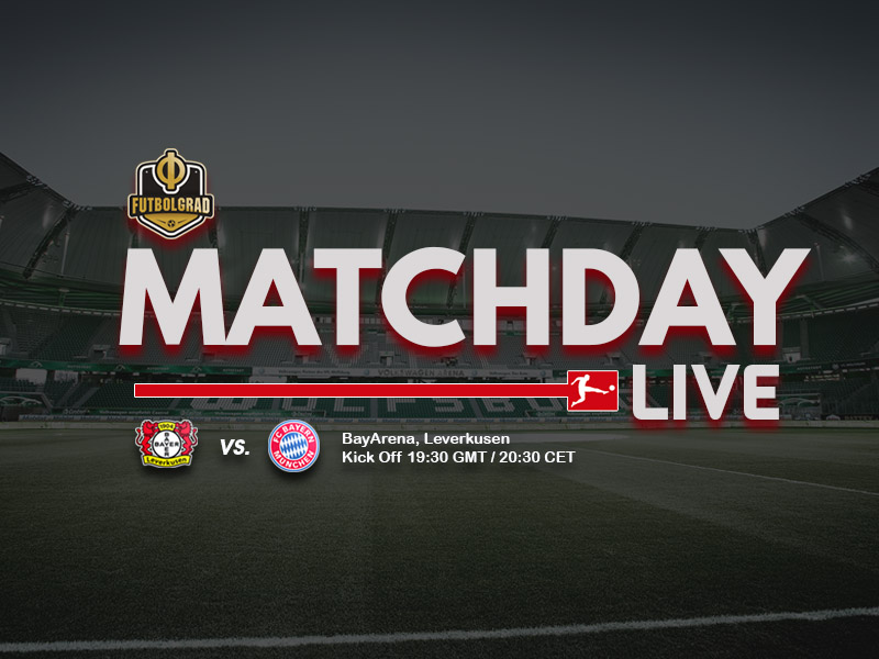 Bayer Leverkusen vs Bayern Munich – Live Report