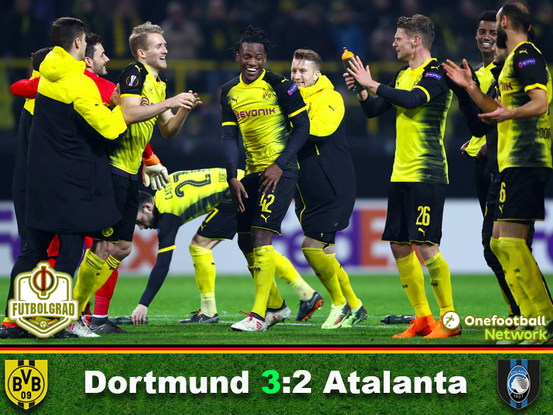Dortmund vs Atalanta – Europa League – Match Report