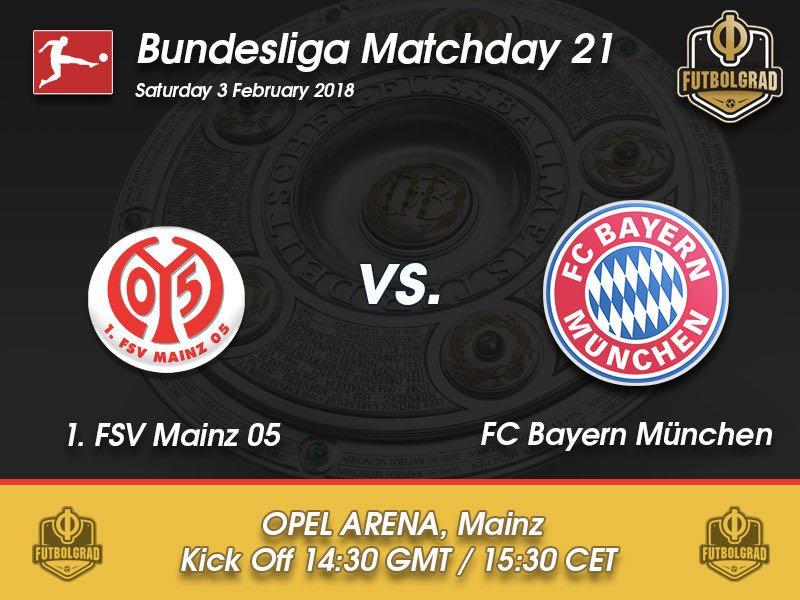 Mainz vs Bayern München – Bundesliga – Preview