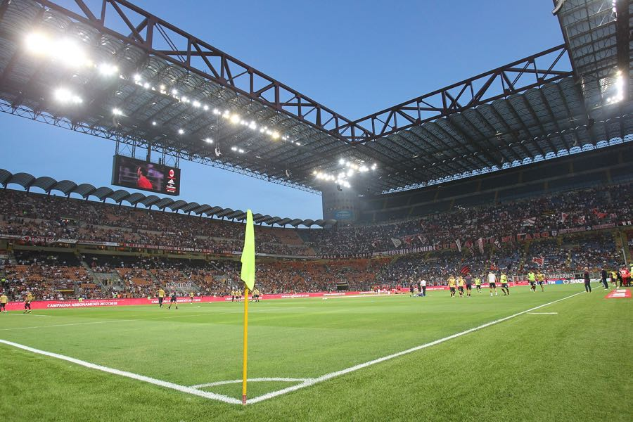 Inter Milan vs Dortmund will take place at the San Siro in Milan. (Photo by Marco Luzzani/Getty Images)