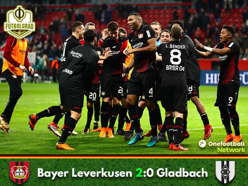 Bayer Leverkusen vs Gladbach – Bundesliga – Match Report