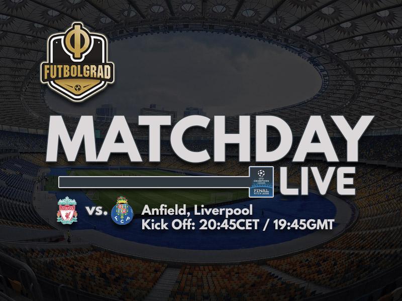 Liverpool vs Porto – Champions League – LIVE