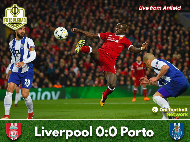 Liverpool vs Porto – Champions League – Match Report
