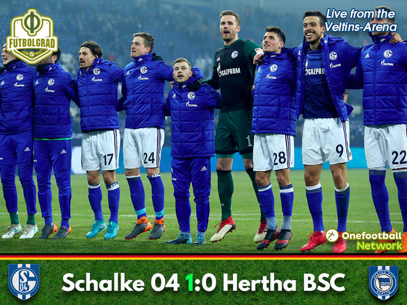 Schalke vs Hertha – Bundesliga Match Report