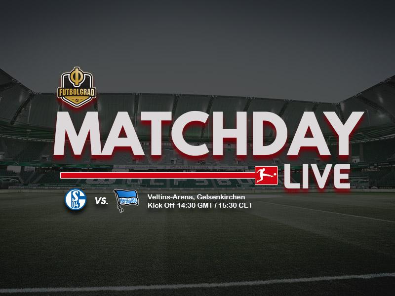 Schalke vs Hertha – Bundesliga LIVE