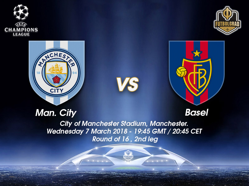 Manchester City vs Basel – Champions League – Preview