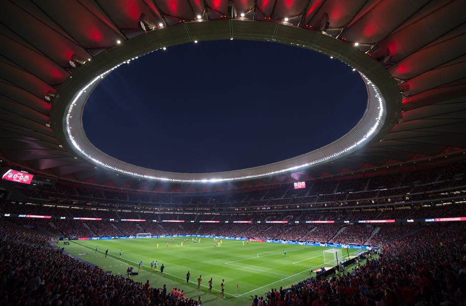 Atlético Madrid vs Leverkusen will take place at the Wanda Metropolitano. (Photo by Denis Doyle/Getty Images)
