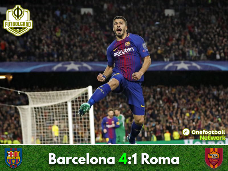 Barcelona v Roma – Champions League – Match Report