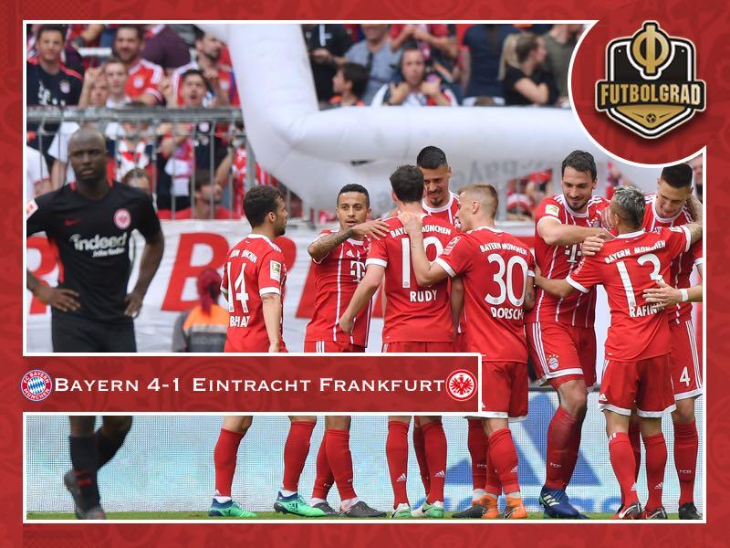 Bayern's reserve side dominate Eintracht Frankfurt