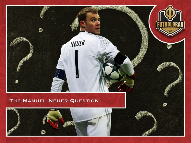 Manuel Neuer – Will he be ready for the World Cup?