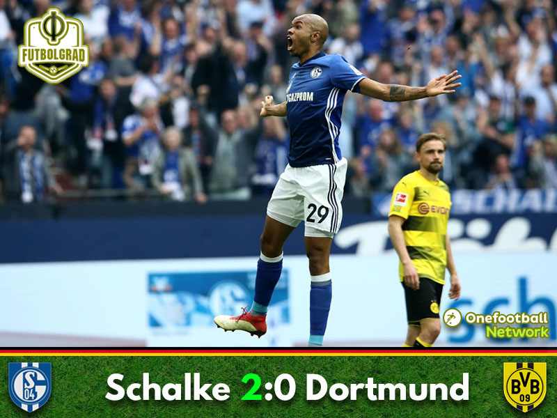 Schalke power past Dortmund in the Revierderby