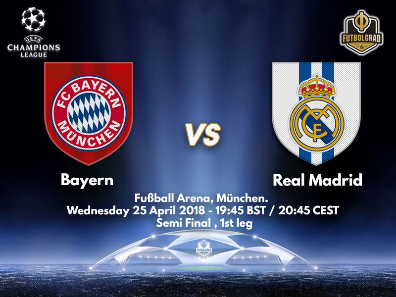 Bayern host Real Madrid in the latest instalment of the European Clasico