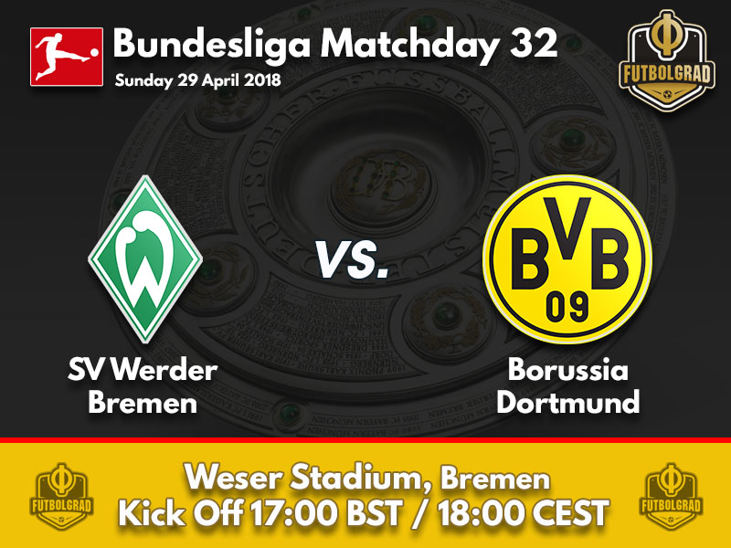 Dortmund's Champions League push continues on Sunday in Bremen
