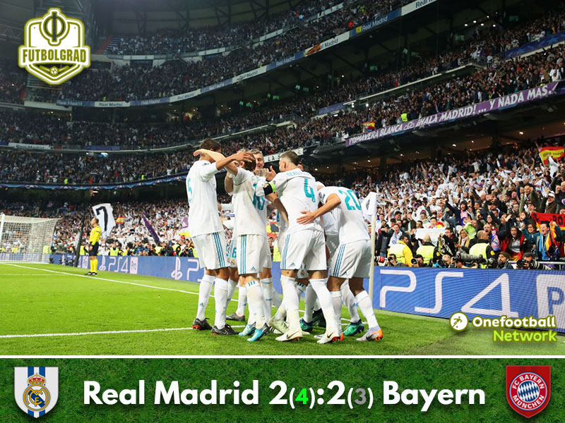 Real Madrid stop Bayern München onslaught to reach the final