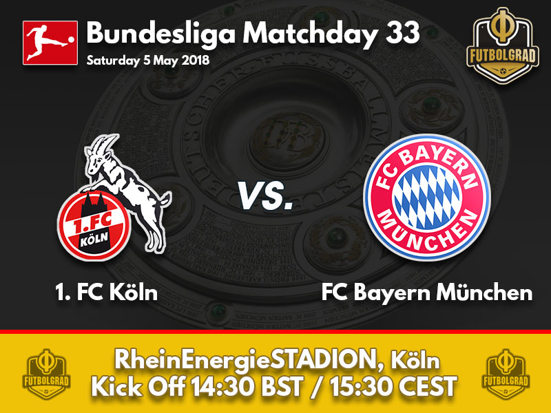 Köln and Bayern attempt to overcome disappointment on Saturday