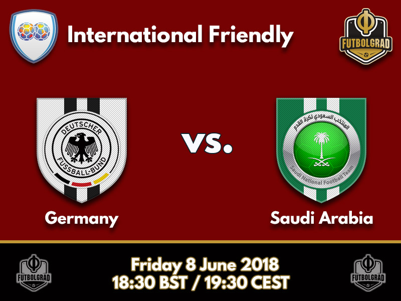 Germany to face Saudi Arabia in final test ahead of the World Cup
