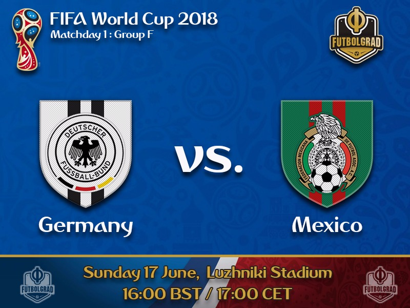 Germany start title defence against Mexico