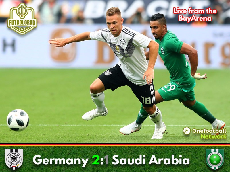 Despite win Germany disappoint against Saudi Arabia in final test before the World Cup