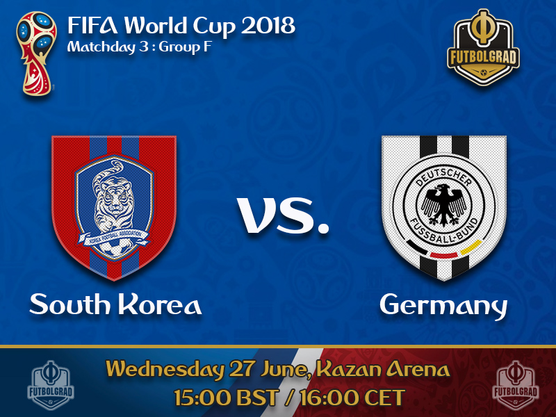 Germany must produce dominant win against South Korea to advance