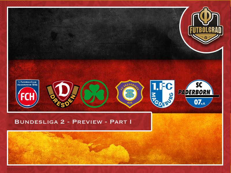 Bundesliga 2 – 2018/19 Season Preview – Part I