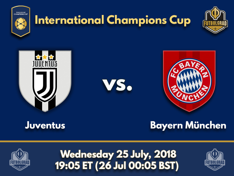 Juventus and Bayern clash in Philadelphia
