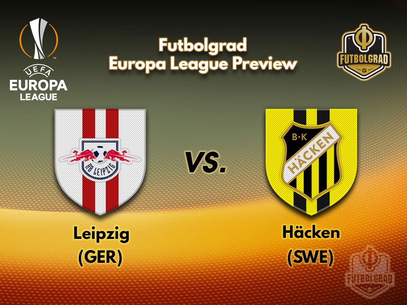 BK Häcken will attempt to upset the apple-cart against RB Leipzig