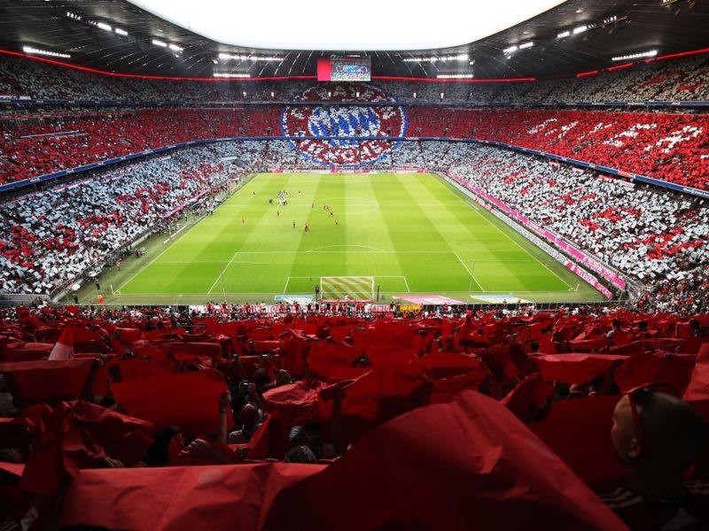 Bayern Munich vs Hoffenheim will take place at the Allianz Arena in Munich (Photo by Adam Pretty/Bongarts/Getty Images)