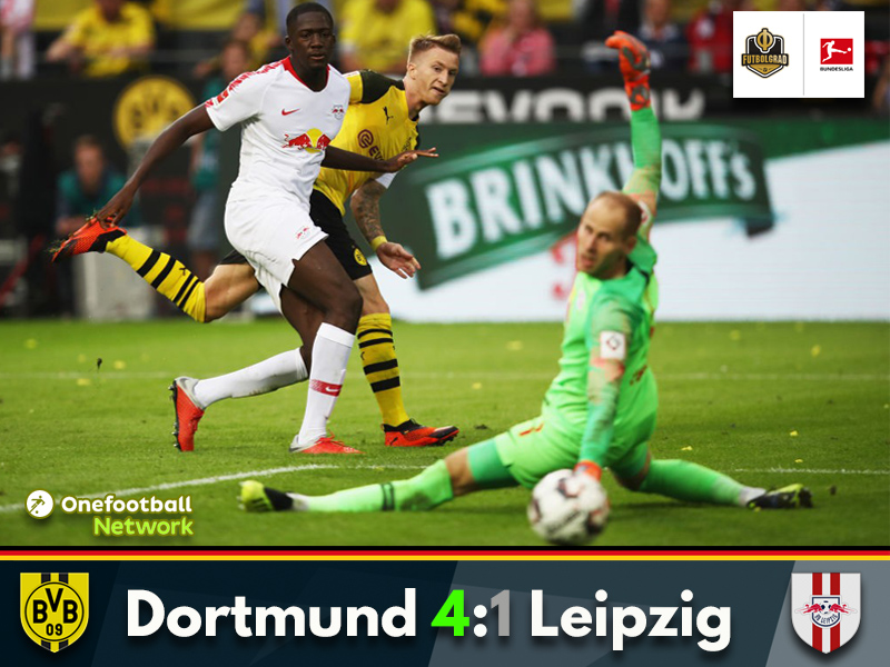 Dortmund come from behind to fly past Leipzig on the opening weekend