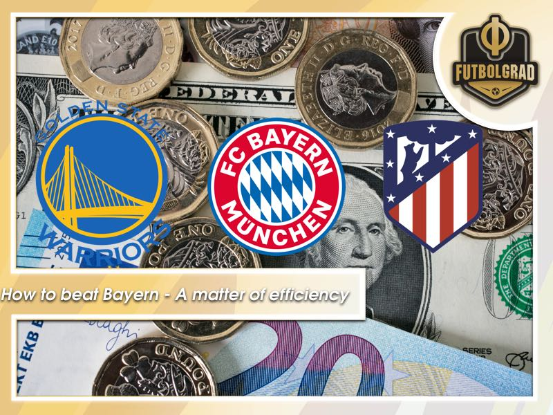 A matter of resources? Bayern are the Golden State Warriors of the Bundesliga but Atlético show they are not unbeatable