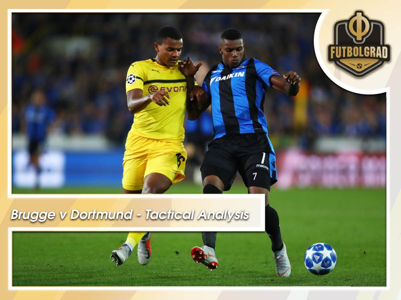Brugge v Dortmund – Champions League – Tactical Analysis