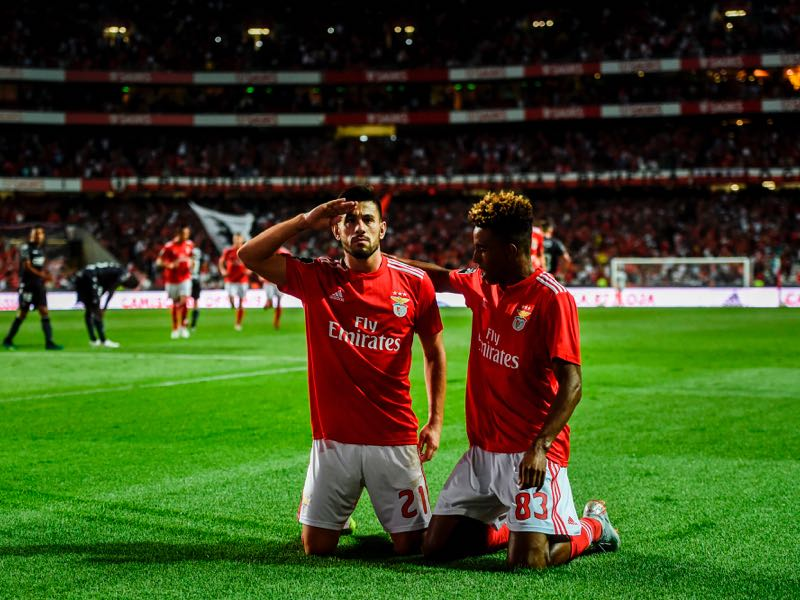 Pizzi (l) and Gedson Fernandes (r) are two players to watch in Group E (PATRICIA DE MELO MOREIRA/AFP/Getty Images)