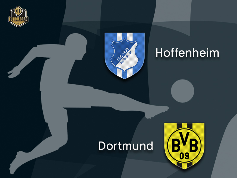 The tough road continues for Hoffenheim as die Kraichgauer host Borussia Dortmund