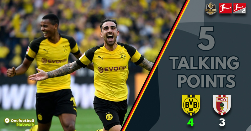 'Super Sancho and A Tale of Two Forwards'- Five Talking Points From Dortmund vs Augsburg