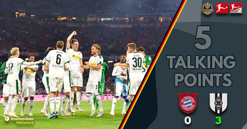 Bayern sluggish, Gladbach fantastic and Stindl the hero – Five thoughts from Bayern vs Gladbach