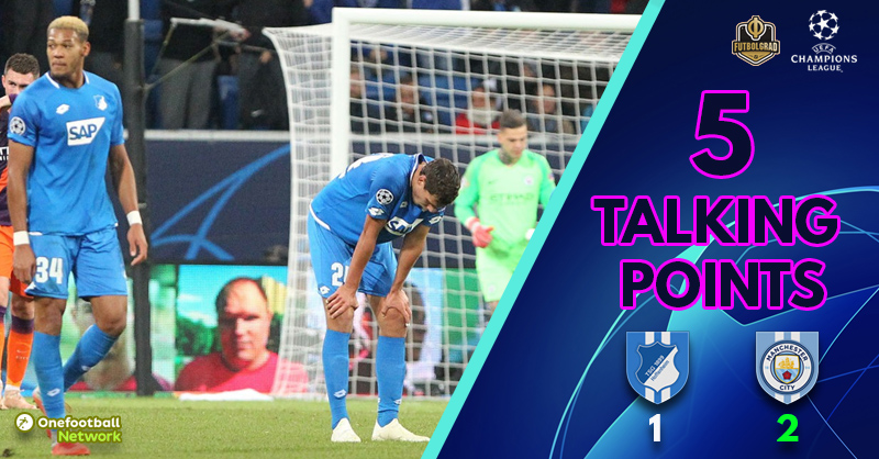 'A cruel way to lose' and 'Nagelsmann's bold tactics' – Five Talking Points From Hoffenheim vs Manchester City