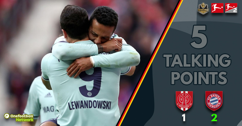 Class prevails – Five talking points from Bayern's victory over Mainz