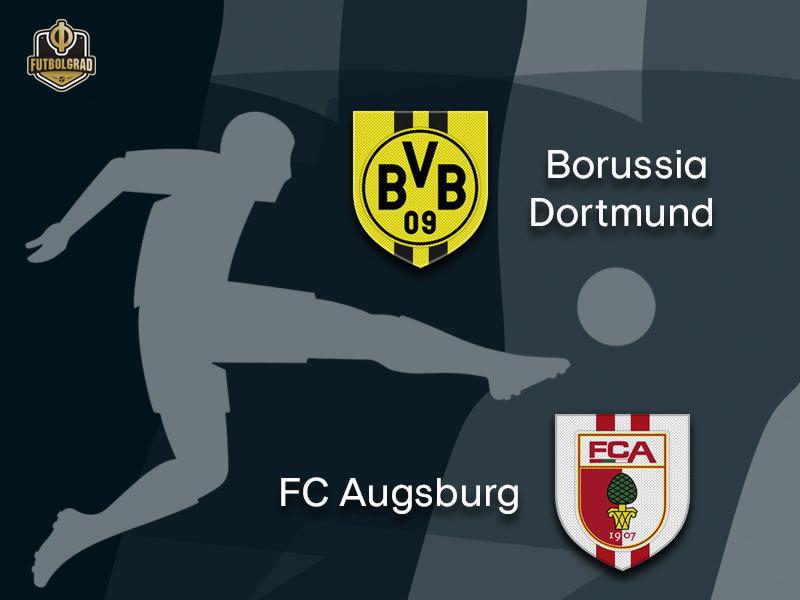 Borussia Dortmund face pressing machine Augsburg