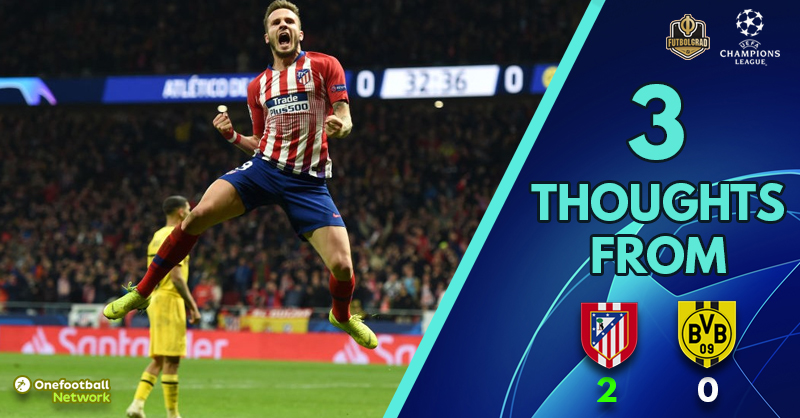 Borussia Dortmund learn valuable lessons in defeat to Atletico – Three thoughts from Atletico vs Dortmund