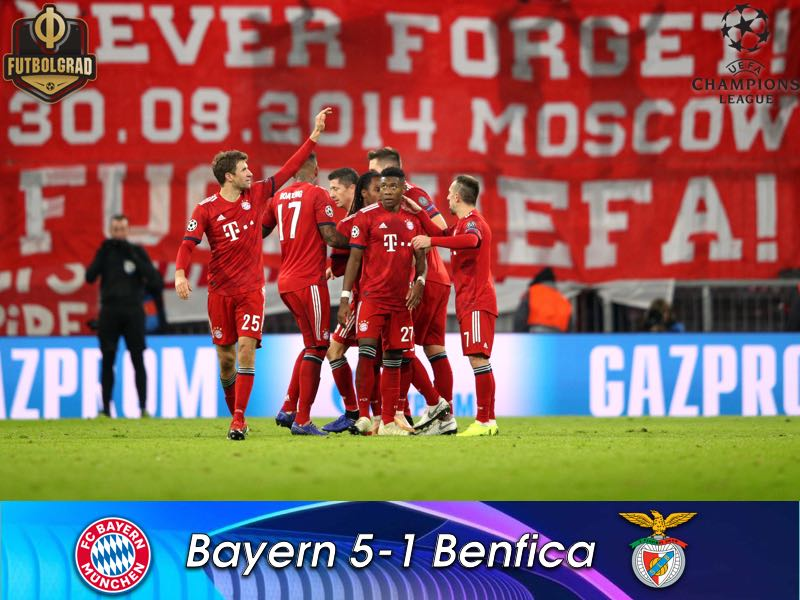 Bayern hammer Benfica as Kovac silences the critiques, for now