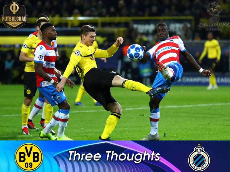 Pass machine, alternatives do not impress and BVB decoded? – Three thoughts from BVB v Brugge
