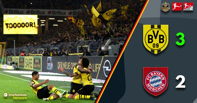 A changing of the guards? Dortmund come back twice to beat Bayern