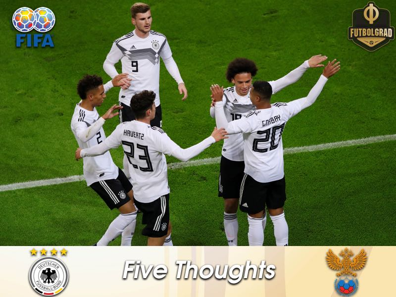 The kids are alright – Five thoughts from Germany's victory over Russia