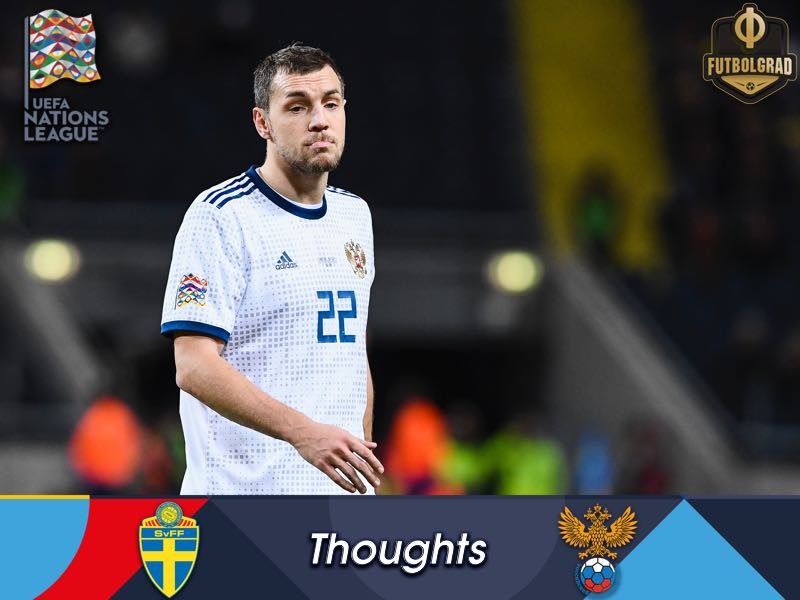 Nations League Russia v Sweden