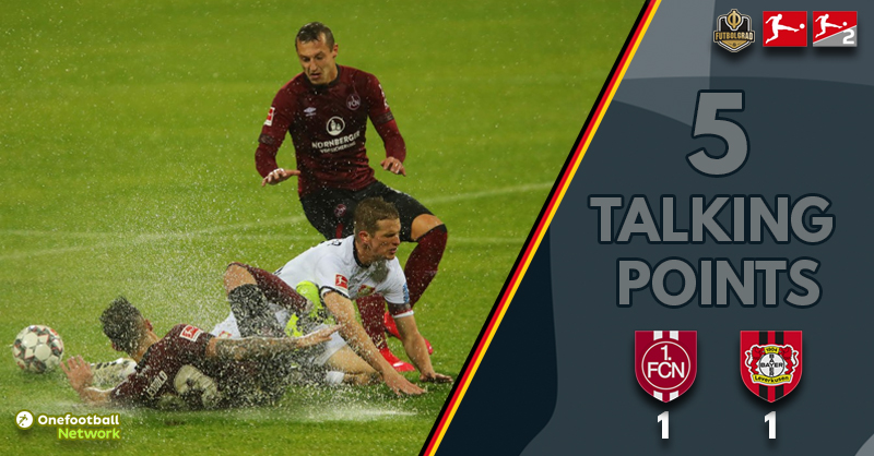 Splash battle at the Max-Morlock-Stadion – Five thoughts from Nürnberg vs Leverkusen