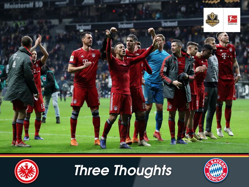 Ribéry, Lucas Hernández and hard working Eintracht Frankfurt – Three thoughts from Frankfurt vs Bayern