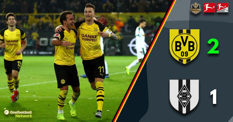 Dortmund rebound and beat Gladbach in the battle of the Borussias