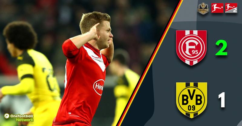 Fortuna Düsseldorf upset the apple-cart to beat Borussia Dortmund